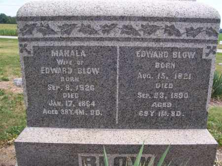 BLOW, MAHALA - Marion County, Ohio | MAHALA BLOW - Ohio Gravestone Photos