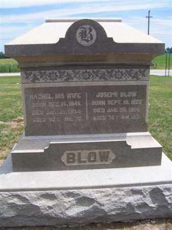 BLOW, JOSEPH - Marion County, Ohio | JOSEPH BLOW - Ohio Gravestone Photos