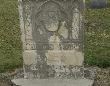 BLOW, JAMES - Marion County, Ohio | JAMES BLOW - Ohio Gravestone Photos