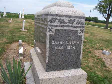 BLOW, SARAH - Marion County, Ohio | SARAH BLOW - Ohio Gravestone Photos