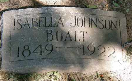 JOHNSON BOALT, ISABELLA - Marion County, Ohio | ISABELLA JOHNSON BOALT - Ohio Gravestone Photos