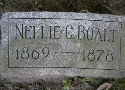 BOALT, NELLIE G. - Marion County, Ohio | NELLIE G. BOALT - Ohio Gravestone Photos