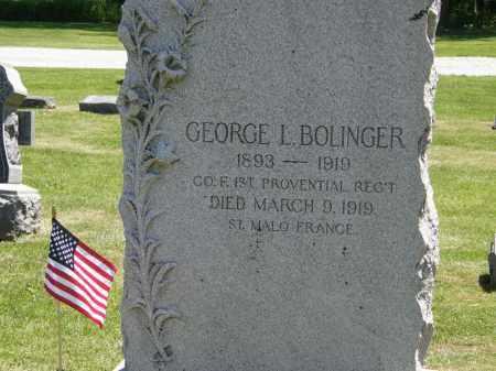 BOLINGER, GEORGE I. - Marion County, Ohio | GEORGE I. BOLINGER - Ohio Gravestone Photos