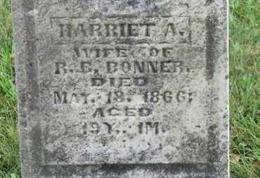 BONNER, HARRIET A. - Marion County, Ohio | HARRIET A. BONNER - Ohio Gravestone Photos