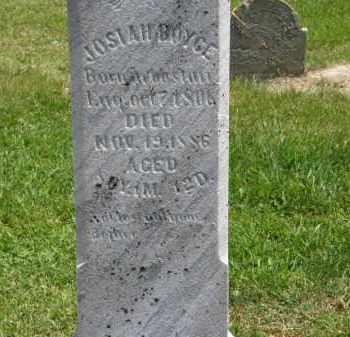 BOYCE, JOSIAH - Marion County, Ohio | JOSIAH BOYCE - Ohio Gravestone Photos