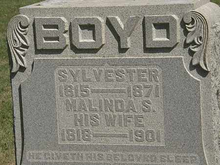 BOYD, SYLVESTER - Marion County, Ohio | SYLVESTER BOYD - Ohio Gravestone Photos