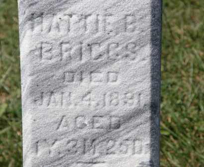 BRIGGS, HATTIE B. - Marion County, Ohio | HATTIE B. BRIGGS - Ohio Gravestone Photos