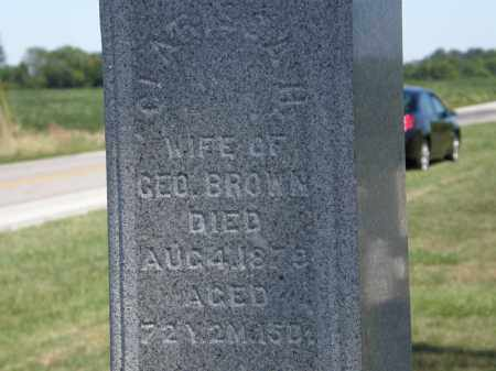 BROWN, GEO. - Marion County, Ohio | GEO. BROWN - Ohio Gravestone Photos