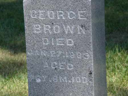 BROWN, GEORGE - Marion County, Ohio | GEORGE BROWN - Ohio Gravestone Photos