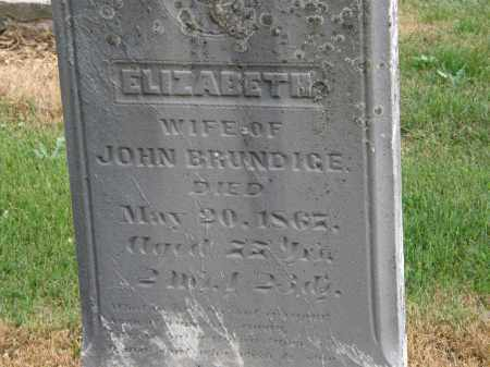 BRUNDIGE, JOHN - Marion County, Ohio | JOHN BRUNDIGE - Ohio Gravestone Photos