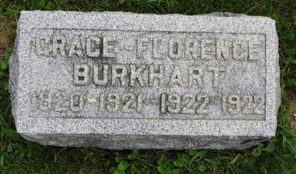 BURKHART, GRACE - Marion County, Ohio | GRACE BURKHART - Ohio Gravestone Photos