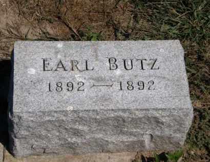 BUTZ, EARL - Marion County, Ohio | EARL BUTZ - Ohio Gravestone Photos