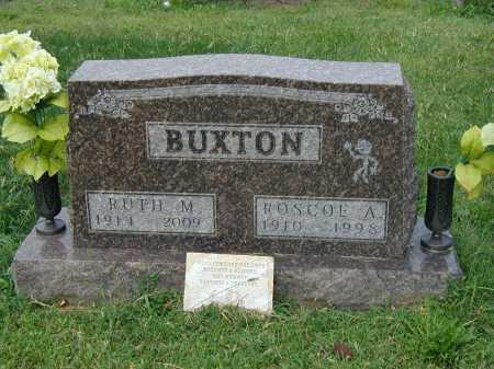 BUXTON, ROSCOE - Marion County, Ohio | ROSCOE BUXTON - Ohio Gravestone Photos