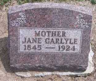CARLYLE, JANE - Marion County, Ohio | JANE CARLYLE - Ohio Gravestone Photos