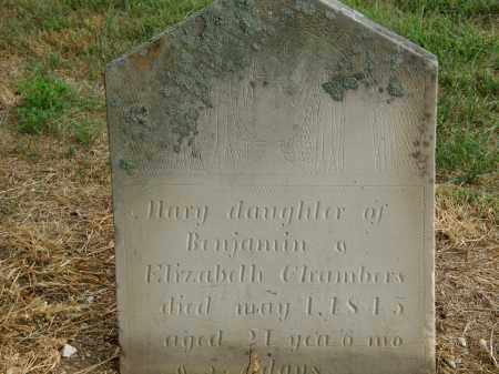 CHAMBERS, BENJAMIN - Marion County, Ohio | BENJAMIN CHAMBERS - Ohio Gravestone Photos