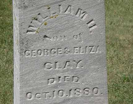 CLAY, WILLIAM H. - Marion County, Ohio | WILLIAM H. CLAY - Ohio Gravestone Photos
