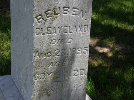 CLEAVELAND, REUBEN - Marion County, Ohio | REUBEN CLEAVELAND - Ohio Gravestone Photos