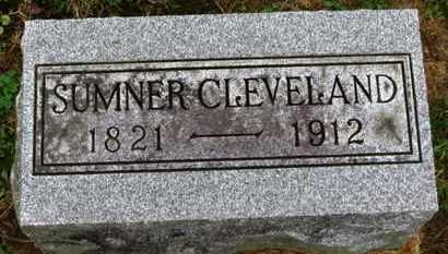 CLEVELAND, SUMNER - Marion County, Ohio | SUMNER CLEVELAND - Ohio Gravestone Photos