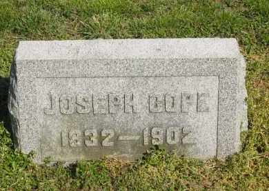 COPE, JOSEPH - Marion County, Ohio | JOSEPH COPE - Ohio Gravestone Photos