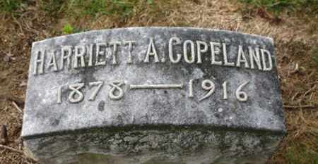 COPELAND, HARRIETT A. - Marion County, Ohio | HARRIETT A. COPELAND - Ohio Gravestone Photos