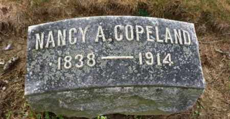 COPELAND, NANCY A. - Marion County, Ohio | NANCY A. COPELAND - Ohio Gravestone Photos