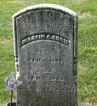 CORN, MARTIN A. - Marion County, Ohio | MARTIN A. CORN - Ohio Gravestone Photos