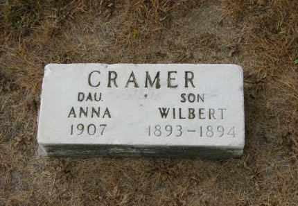 CRAMER, ANNA - Marion County, Ohio | ANNA CRAMER - Ohio Gravestone Photos