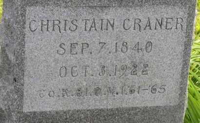 CRANER, CRANER - Marion County, Ohio | CRANER CRANER - Ohio Gravestone Photos