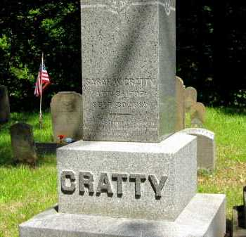 CRATTY, SARAH W. - Marion County, Ohio | SARAH W. CRATTY - Ohio Gravestone Photos