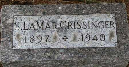 CRISSINGER, S. LAMAR - Marion County, Ohio | S. LAMAR CRISSINGER - Ohio Gravestone Photos