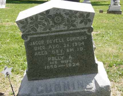 CUMMINS, JACOB BOVELL - Marion County, Ohio | JACOB BOVELL CUMMINS - Ohio Gravestone Photos