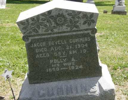 CUMMINS, POLLY A. - Marion County, Ohio | POLLY A. CUMMINS - Ohio Gravestone Photos