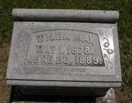 CUMMINS, WILDA MAY - Marion County, Ohio | WILDA MAY CUMMINS - Ohio Gravestone Photos