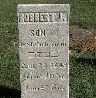 CUNNINGHAM, ROBBERT J. - Marion County, Ohio | ROBBERT J. CUNNINGHAM - Ohio Gravestone Photos