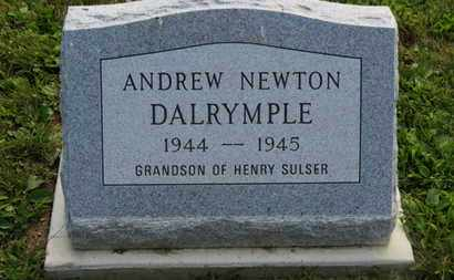 DALRYMPLE, ANDREW NEWTON - Marion County, Ohio | ANDREW NEWTON DALRYMPLE - Ohio Gravestone Photos