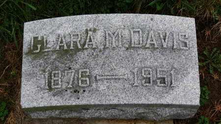 DAVIS, CLARA A. - Marion County, Ohio | CLARA A. DAVIS - Ohio Gravestone Photos