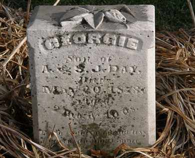 DAY, GEORGIE - Marion County, Ohio | GEORGIE DAY - Ohio Gravestone Photos