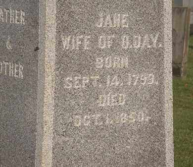 DAY, JANE - Marion County, Ohio | JANE DAY - Ohio Gravestone Photos