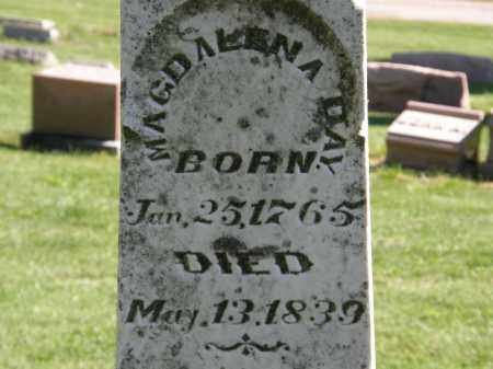 DAY, MAGDALENA - Marion County, Ohio | MAGDALENA DAY - Ohio Gravestone Photos