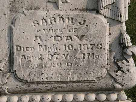 DAY, SARAH J. - Marion County, Ohio | SARAH J. DAY - Ohio Gravestone Photos