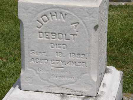 DE BOLT, JOHN A. - Marion County, Ohio | JOHN A. DE BOLT - Ohio Gravestone Photos