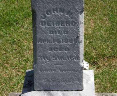 DEIBERD, JOHN H. - Marion County, Ohio | JOHN H. DEIBERD - Ohio Gravestone Photos