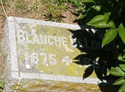 DELONG, BLANCHE - Marion County, Ohio | BLANCHE DELONG - Ohio Gravestone Photos