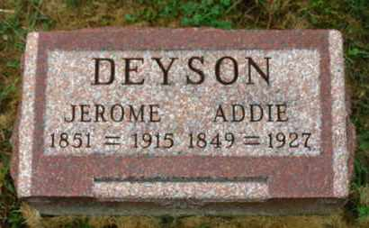 DEYSON, ADDIE - Marion County, Ohio | ADDIE DEYSON - Ohio Gravestone Photos