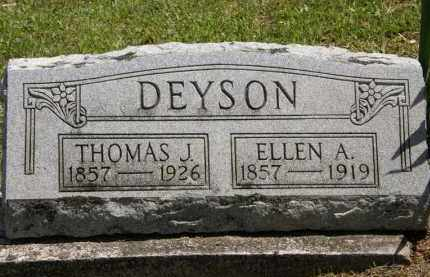 DEYSON, THOMAS J. - Marion County, Ohio | THOMAS J. DEYSON - Ohio Gravestone Photos