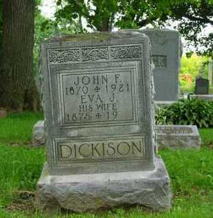 DICKISON, EVA J. - Marion County, Ohio | EVA J. DICKISON - Ohio Gravestone Photos