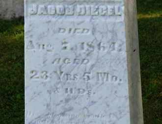 DIEGEL, JACOB - Marion County, Ohio | JACOB DIEGEL - Ohio Gravestone Photos