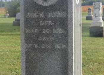 DODD, JOHN - Marion County, Ohio | JOHN DODD - Ohio Gravestone Photos