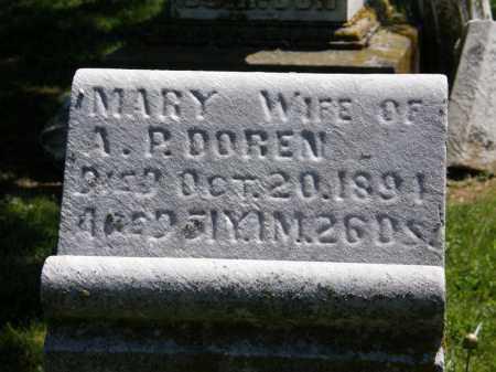 DOREN, A.P. - Marion County, Ohio | A.P. DOREN - Ohio Gravestone Photos