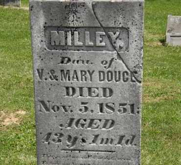 DOUCE, MILLEY - Marion County, Ohio | MILLEY DOUCE - Ohio Gravestone Photos